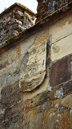 Escudo heráldico Casa de Arcos (Castillo de Gigonza)
