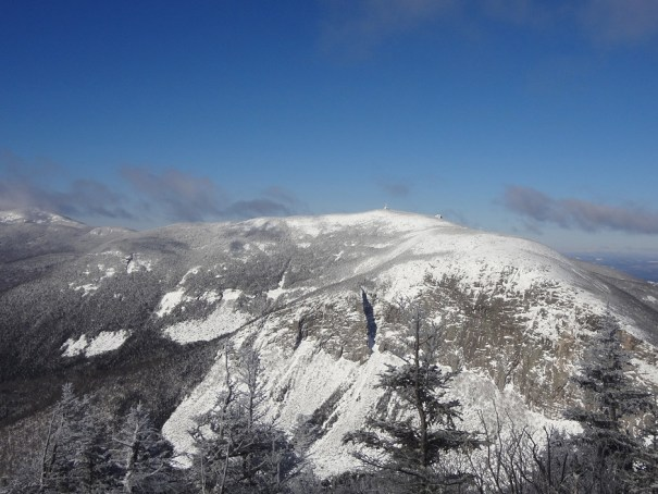 Cannon Mountain viewed from Mt. Lafayette Old Bridle Path