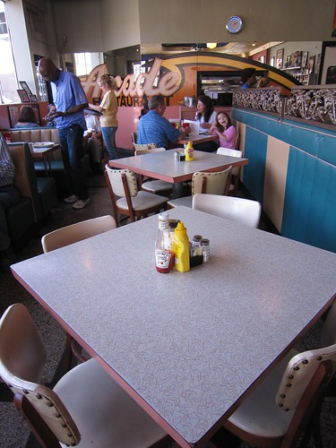 Arcade Restaurant Boomerang Formica