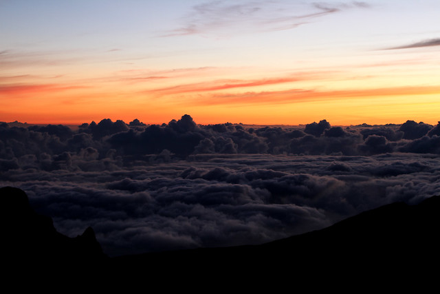 Above the clouds- Haleakala Volcano Crater Sunrise, Maui