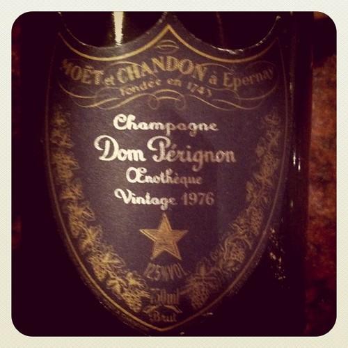 Dom Perignon Oenotheque 1976