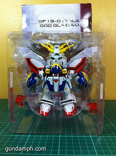 SD Archive God Gundam (9) Out Of Box Review
