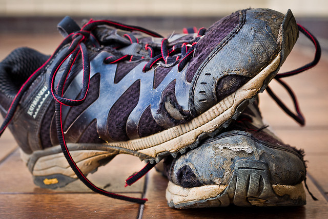 J58 / Détail du quotidien : Mes chaussures de marche