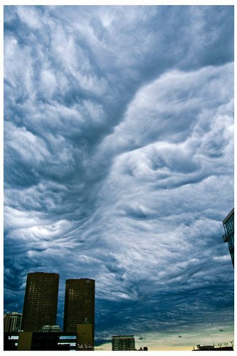 Cloudscape in the West Loop - Number 2221