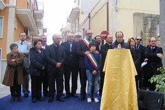 """Rosolini: cerimonia di intitolazione acquedotto comunale a """" Francesco Giunta"""""""