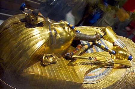 Coffin of Tutankhamen_Cairo_Museam