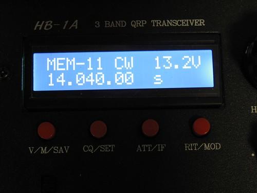 HB-1A display