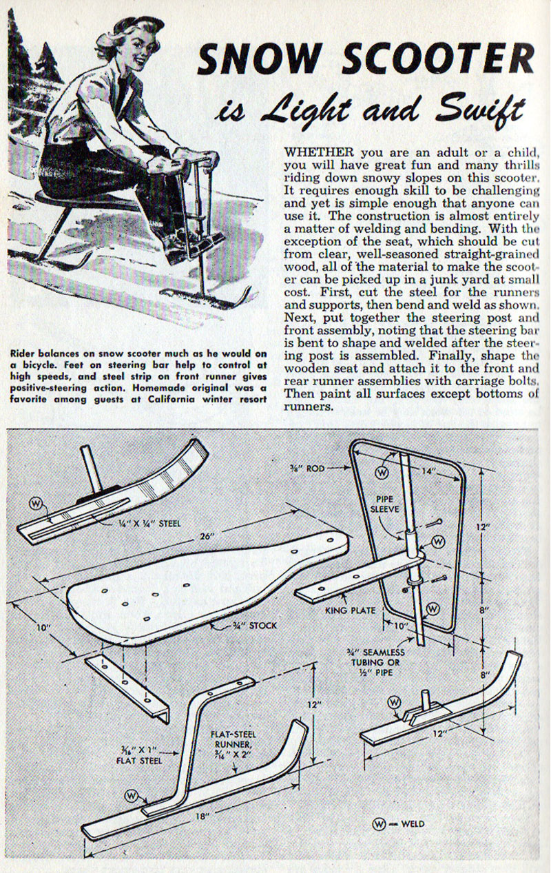 Snow Scooter (1955)