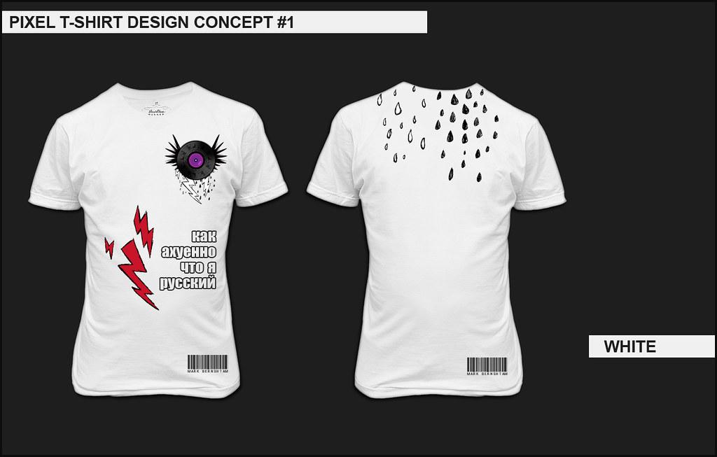 Pixel's t-shirt design (click to enlarge)