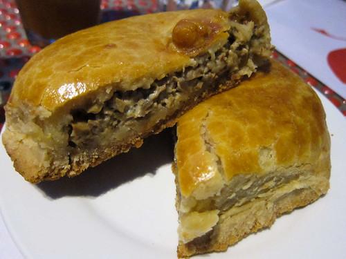 Herb Cheese and Mushroom Pie