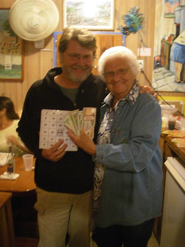 Skip and his bingo winnings