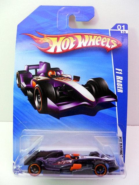 hot wheels f1 Racer black (1)
