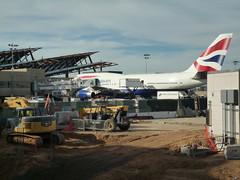 BA 747 at LAX Bradley Terminal