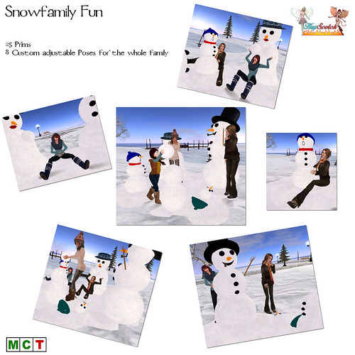 Snowfamily fun
