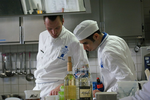 Chef and Assistant