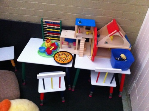 Kids' play area - dmF Emporium and Cafe, Warrimoo