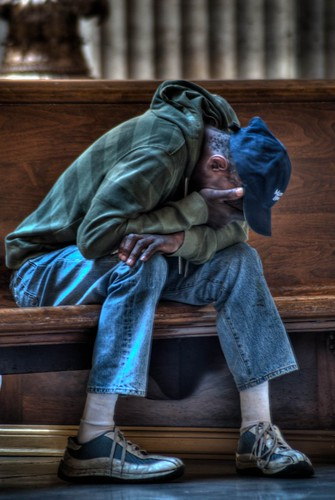 Union-Station-Chicago-Homeless-Man
