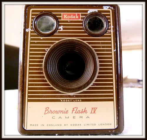 Kodak Brownie Flash 4 - manufactured in 1924(i think)