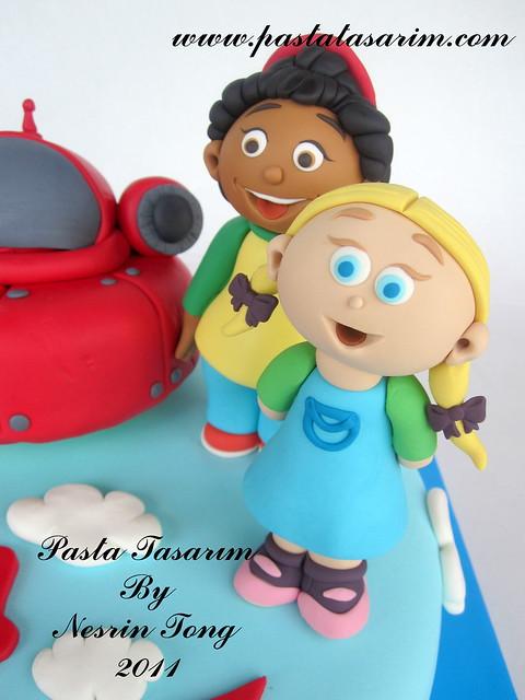 LITTLE EINSTEIN CAKE - KERIM BIRTHDAY