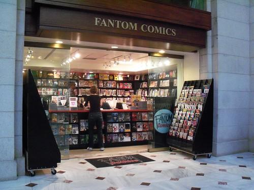 Fantom Comics, DC