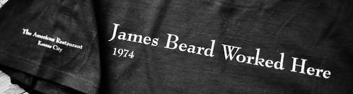 James Beard Worked Here
