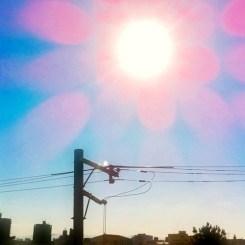 祝400投稿! v( ̄Д ̄)v イエイ  大阪、今朝は雨なので、いつかの青空をどうぞ!