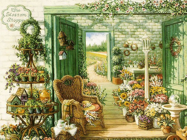 Welcome_to_My_Garden_Art_Painting_01_the_blossom_shop