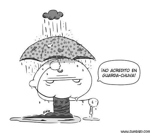 Zumbigo - pequenas crenças em dia de chuva