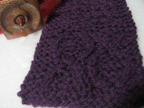 Parmenia Dress Test Knit Swatch