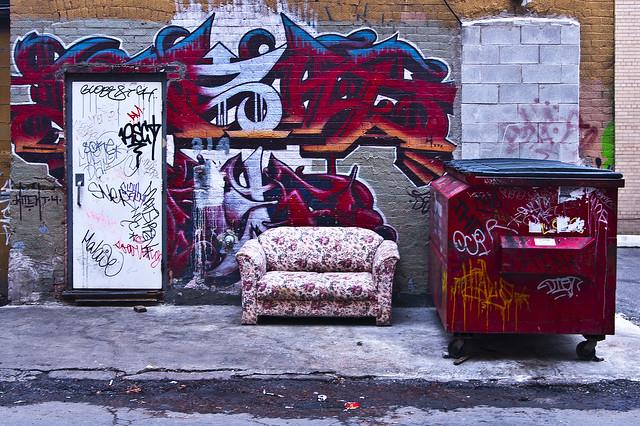 Graffiti can be a beautiful thing.
