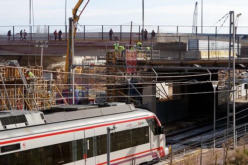Estación de Sant Andreu 01 - Hormigoneado - 09-12-10