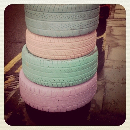 Pastel Tyres