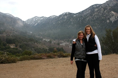 Jodi and I at Inspiration Point (Forest Home)