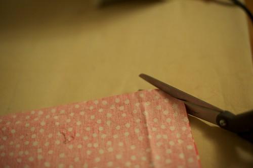 Clipping pocket corner