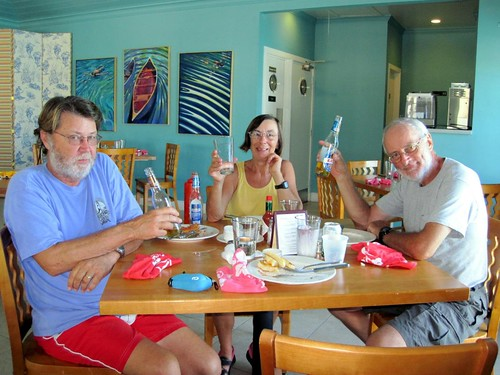 Lunch at Sampson Cay