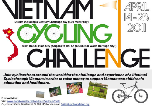 Poster - Vietnam Cycling Challenge