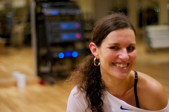 Sarah Galán på kvartasutbildningen i Stockholm (2010-12-05)