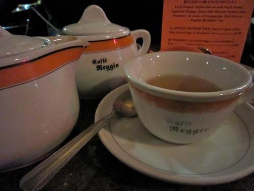 Caffe Reggio Tea Service