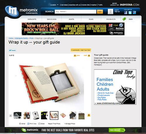 Metromix Gift Guide