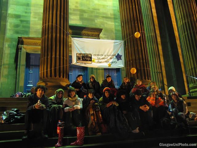 STAR Glasgow Sleepout