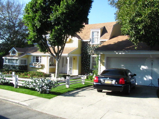 Mayer/Delfino Home on Wisteria Lane on the Unviersal Studio Tour