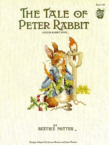 Peter Rabbit in Cross Stitch