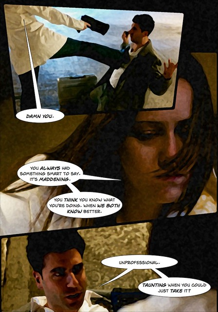 Amber & Nick Action Shoot - Comic, Page 5 of 6