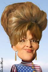 Sarah Palin - Caricature