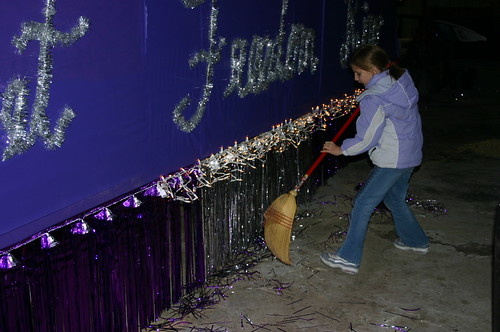 Relay for Life - Christmas Parade - Malena Sweeps