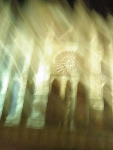 blurred image of Durham Cathedral