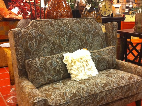 settee at Pier 1