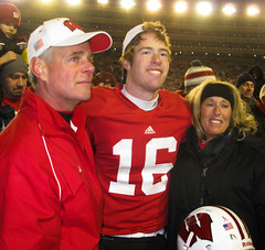 Scott Tolzien with his dad and mom