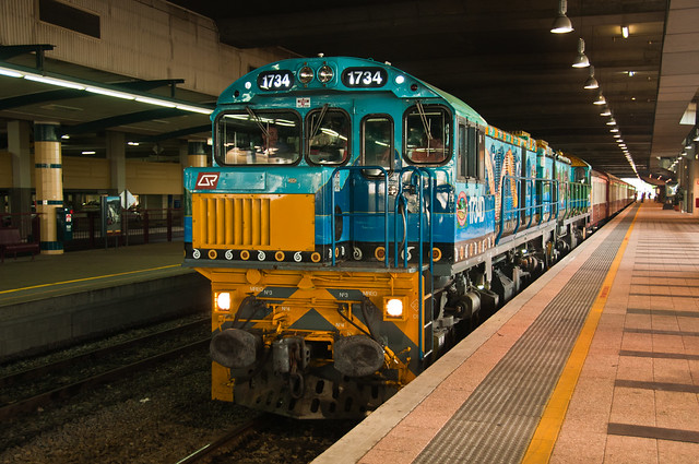 The Kuranda Train in Cairns Central