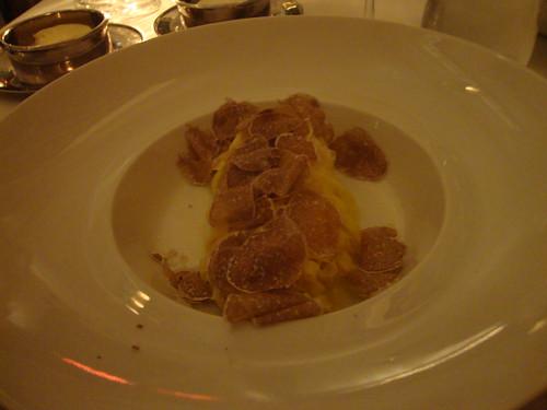 Tagliolini with White Truffles and Parmigiano-Reggiano